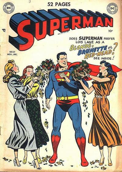 Here is The Superman Cover