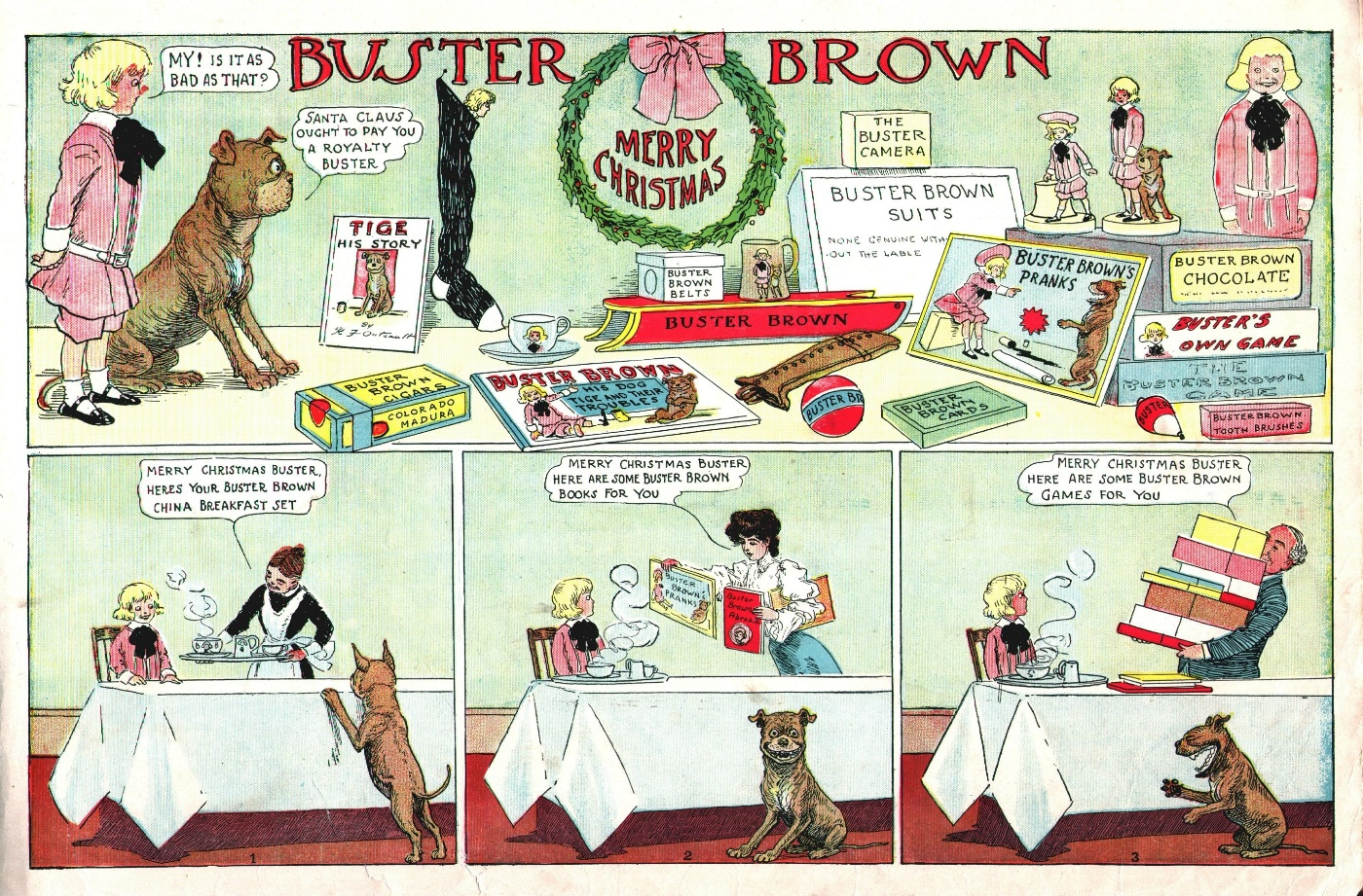 Buster Brown S Dog Tige
