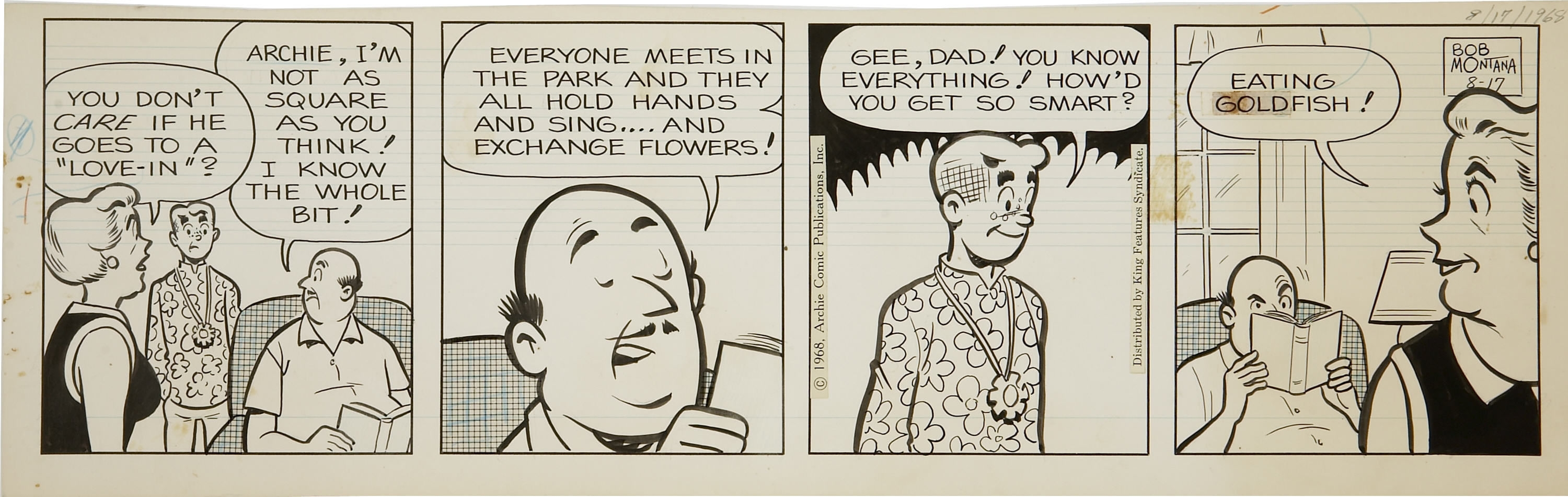 Archie comc strip new porno