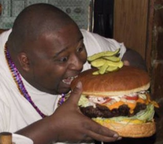 weird-people-fat-guy-eating-huge-ha