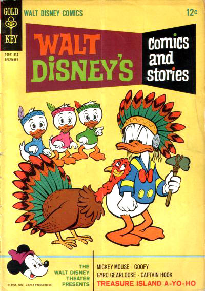 Thanksgiving Cookbook Cover : Donald duck mr s tepid ride