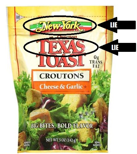 croutons LIE