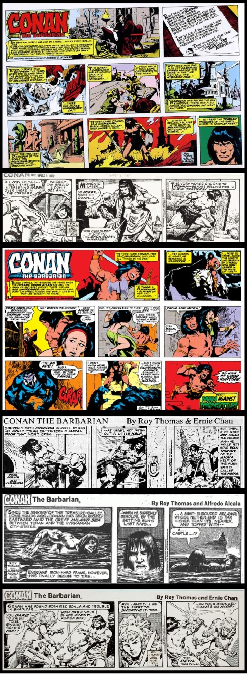 Conan the newspaper strips the First Sunday