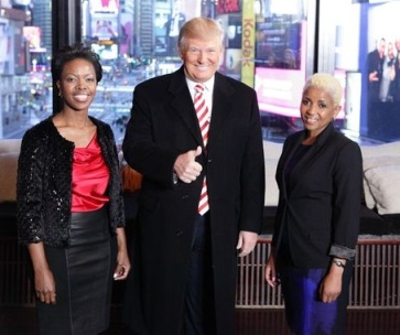 Donald Trump with the brains behind South African Tourism.
