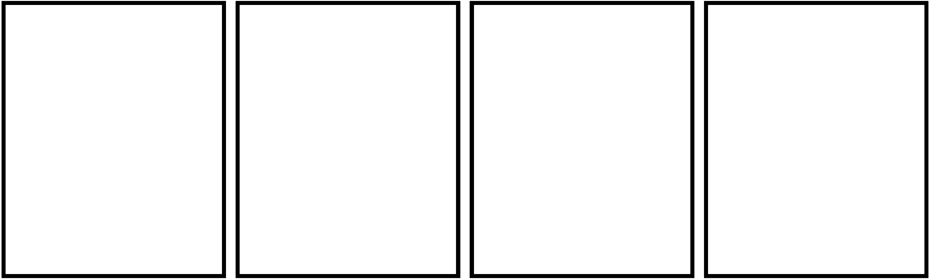 Comic strip template 4 boxes the image for Four panel comic strip template
