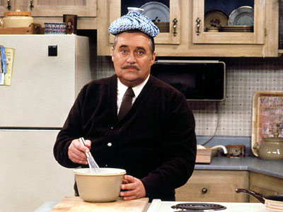 Sorry Mr. Belvedere, that's not the right place for that compress.