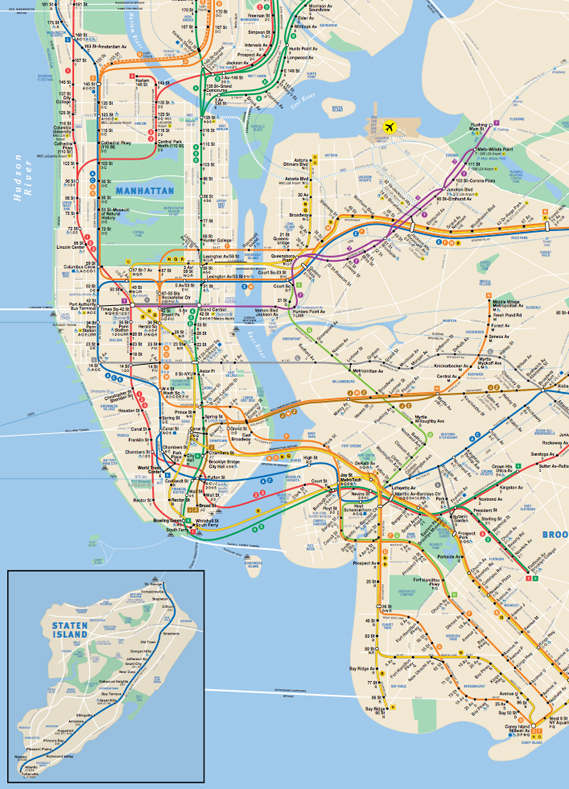 Nyc Subway Map 1997.The Nyc Subway Map By Allan Keyes With Additional Content By Sam