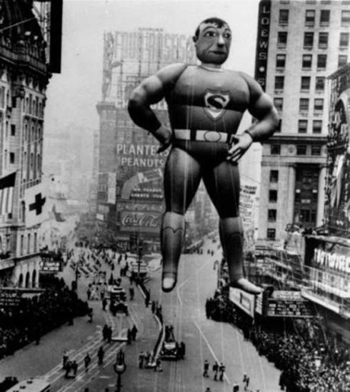 superman float 1940