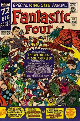 fantastic four annual 3 wedding reed sue dr doom