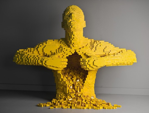 Lego 5 Anatomy Man