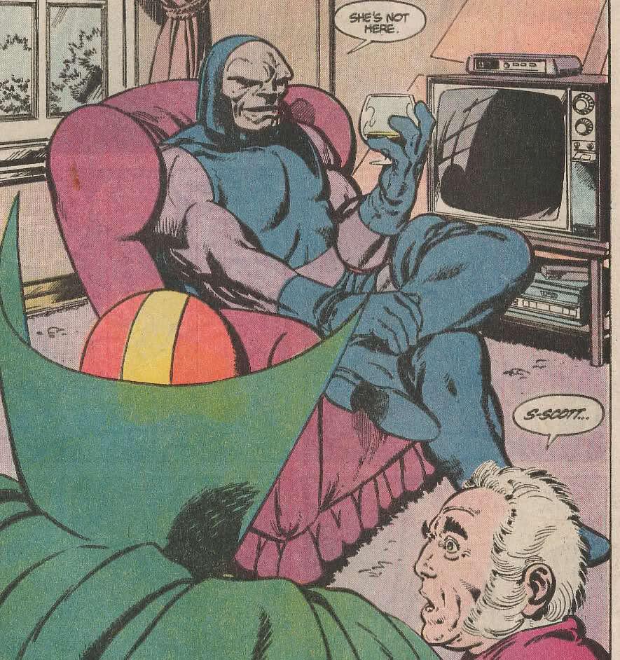 The Saturday Comics Darkseid Likes To Sit Down Mr Blog