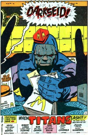 Darkseid fast food