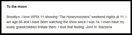 the honey mooner
