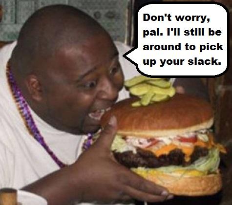 fat guy slack