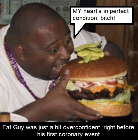fat guy heart