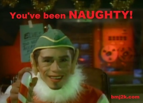 hollis elf NAUGHTY