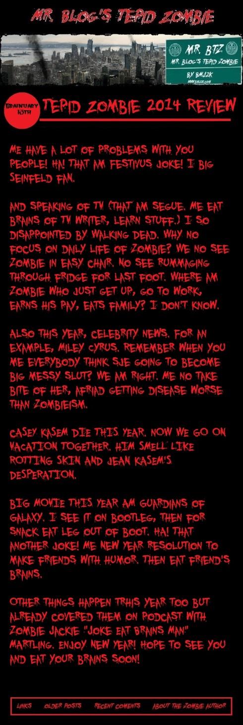 zombie 2014