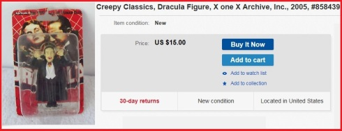 Dracula Gilbert listing