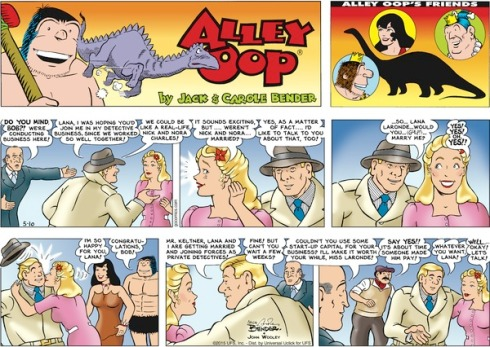 Alley Oop Comic
