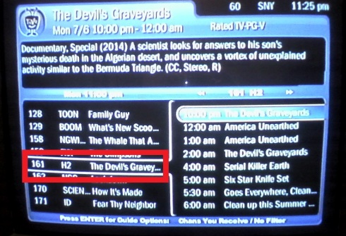 TV gravey