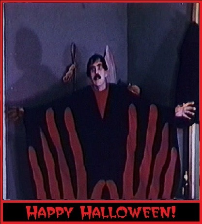 manos halloween