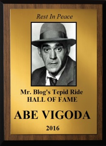 Vigoda plaque