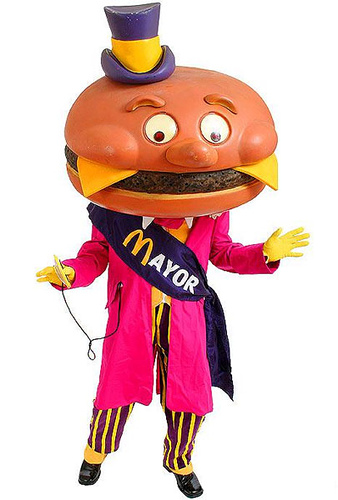 McDonaldland's first three-term Mayor!