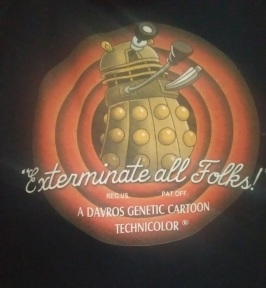 Dr Who Dalek toon